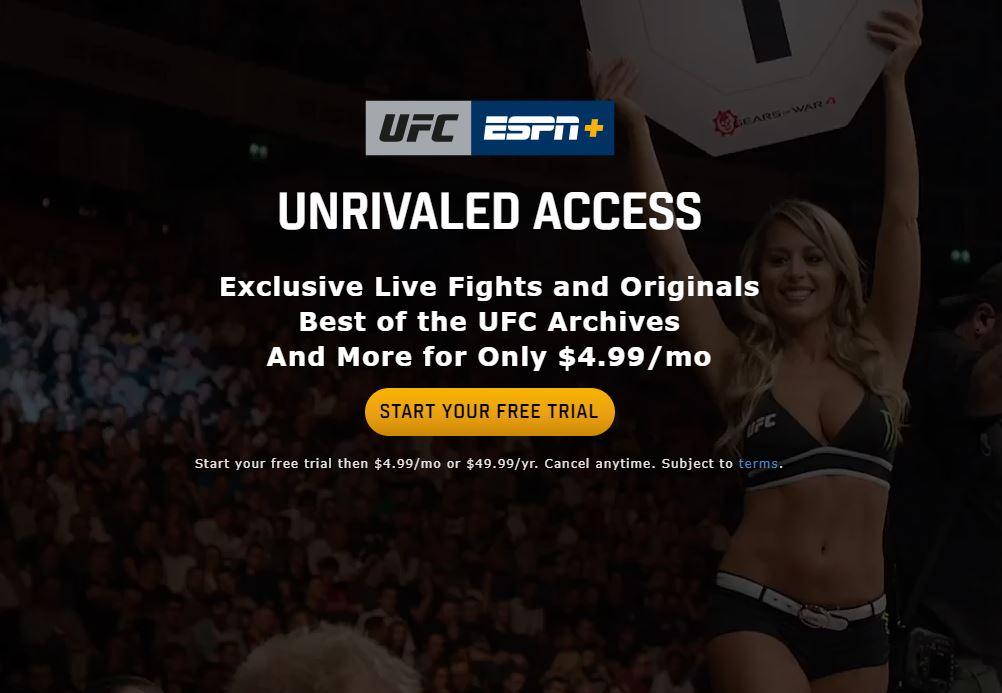 UFC ESPN+