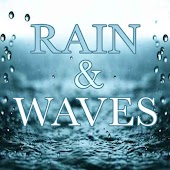 Pouring Rain & Waves for Sleep and Relaxation