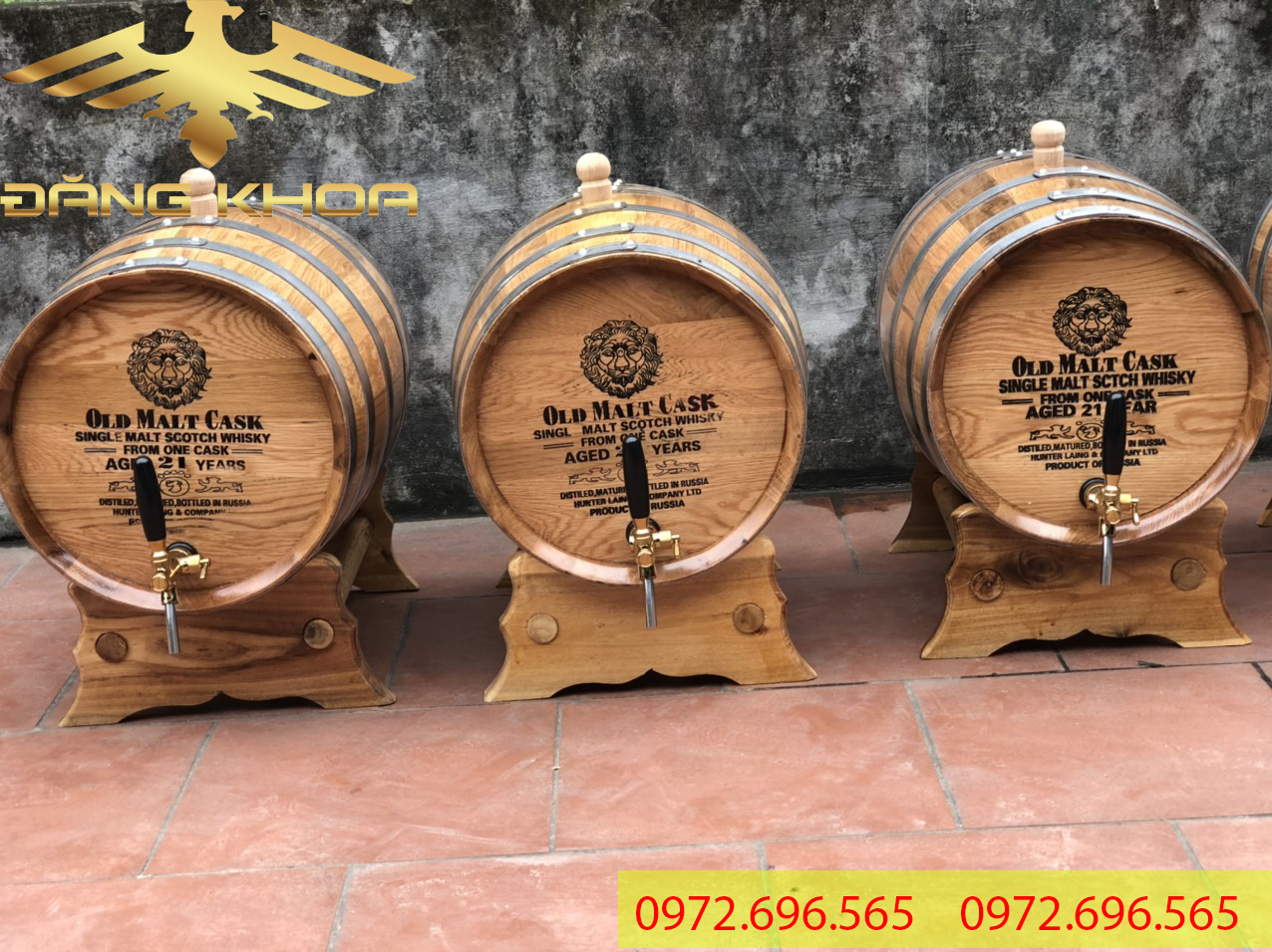 Ngâm rượu trong thùng gỗ sồi giúp tăng giá trị rượu