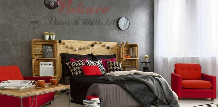 Sơn tường bê tông – nghệ thuật sơn tường mới mang đến vẻ đẹp thô sơ