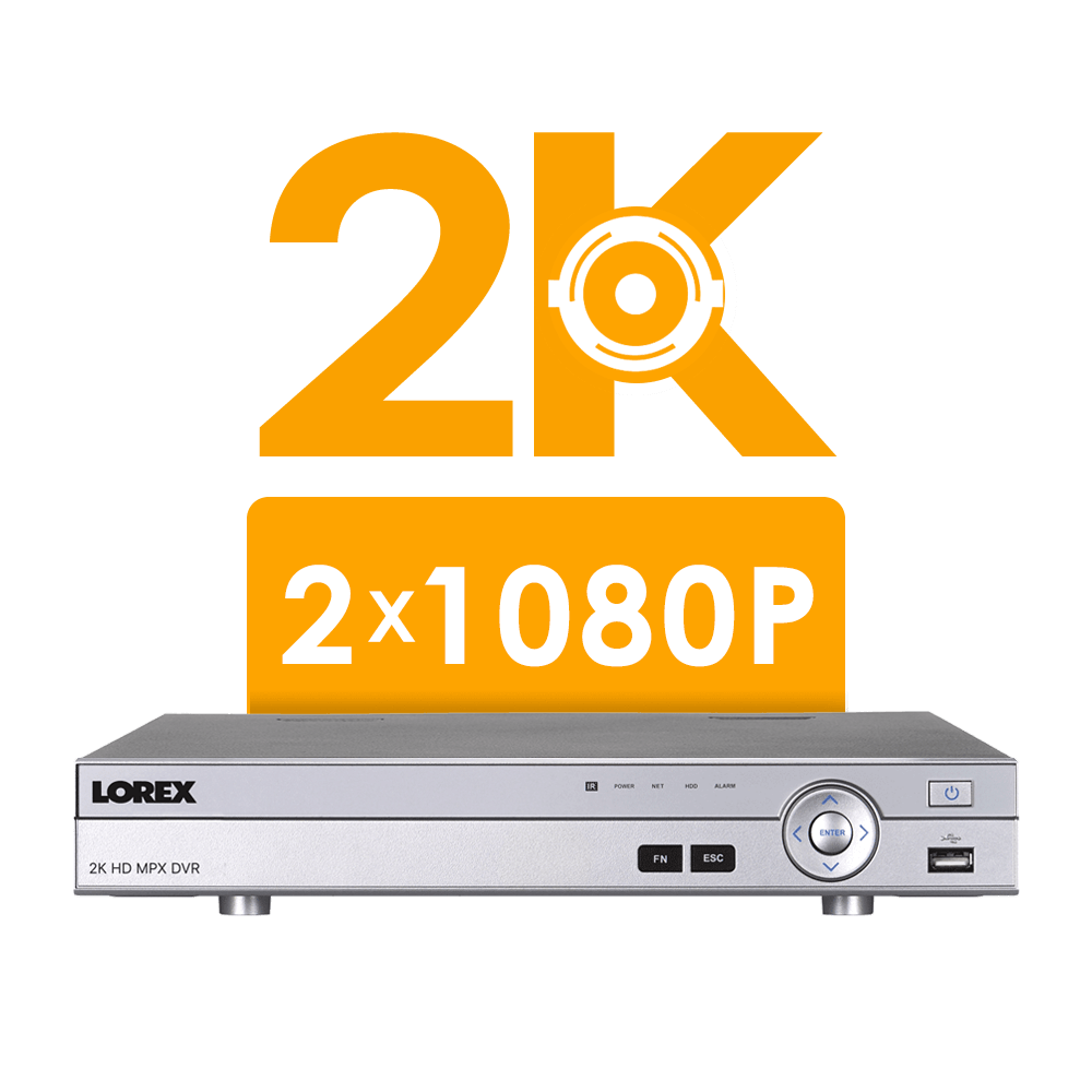2K superHD security DVR