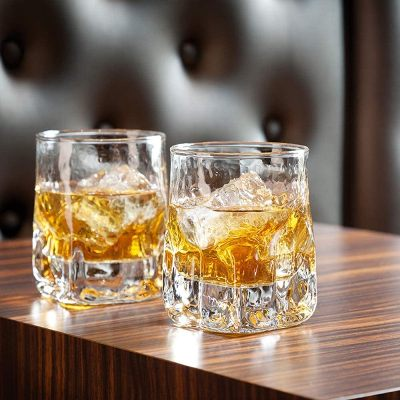 NSYNSY 6 PCS Thickened Crystal Whiskey Glass
