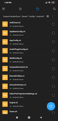 android folder files