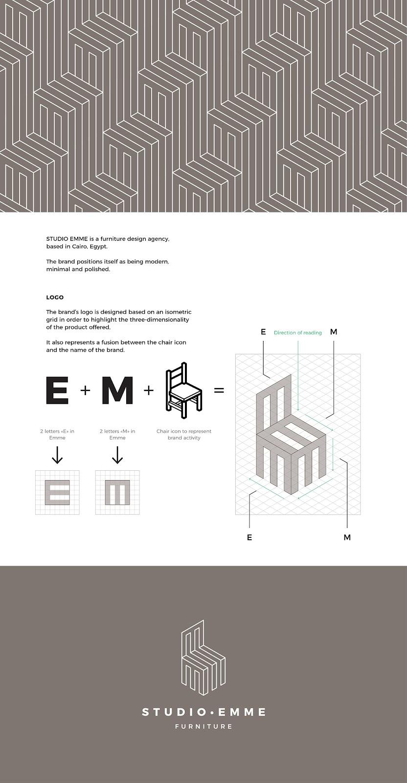 Studio Emme Furniture Design - Branding