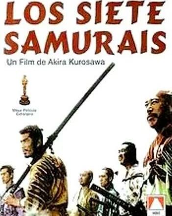 Los siete samuráis (1954, Akira Kurosawa)