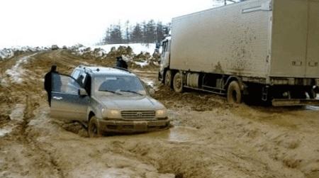 Siberian Road to Yakutsk (Rusia)