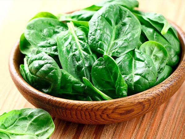 Diez alimentos que ayudan a pensar mejor - 7: Espinaca