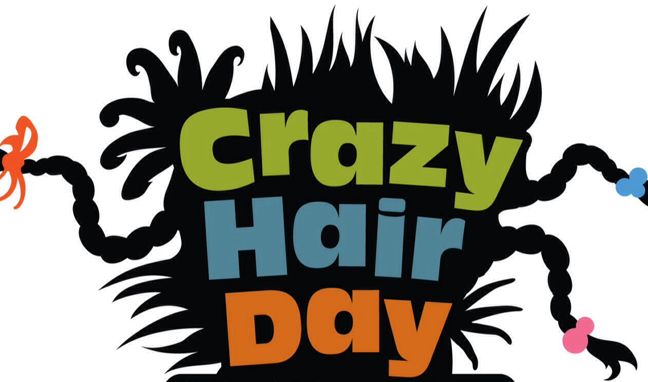 Image result for crazy hair and hat day poster