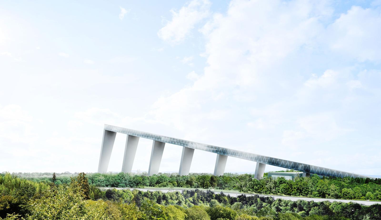 As maiores construções do mundo: skipark