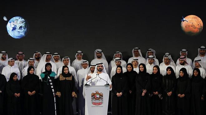 UAE sẽ tham gia vào cuộc đua lên sao Hỏa.