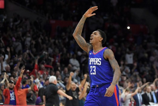 Image result for lou williams clippers celebration