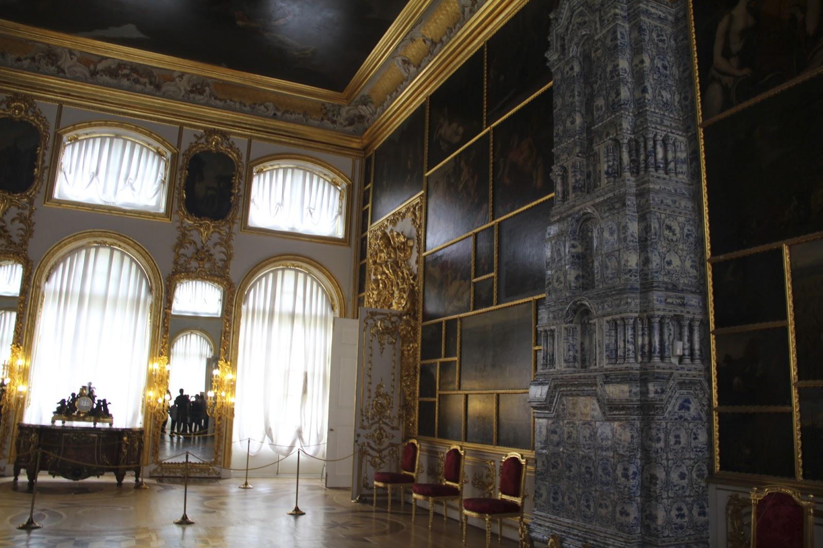 Царское Село Екатерининский дворец Картинный зал