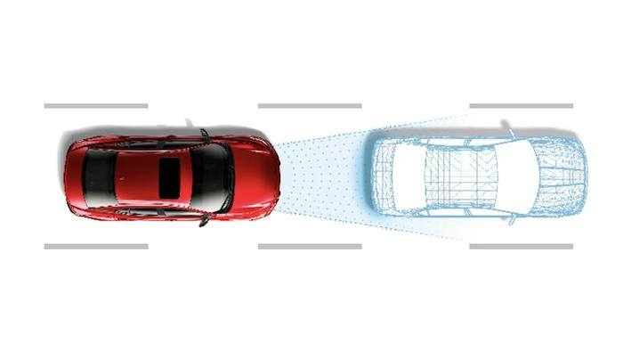 Nissan Intelligent Mobility ระบบเบรกอัตโนมัติ