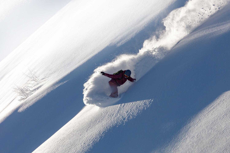 Snowboard extremo