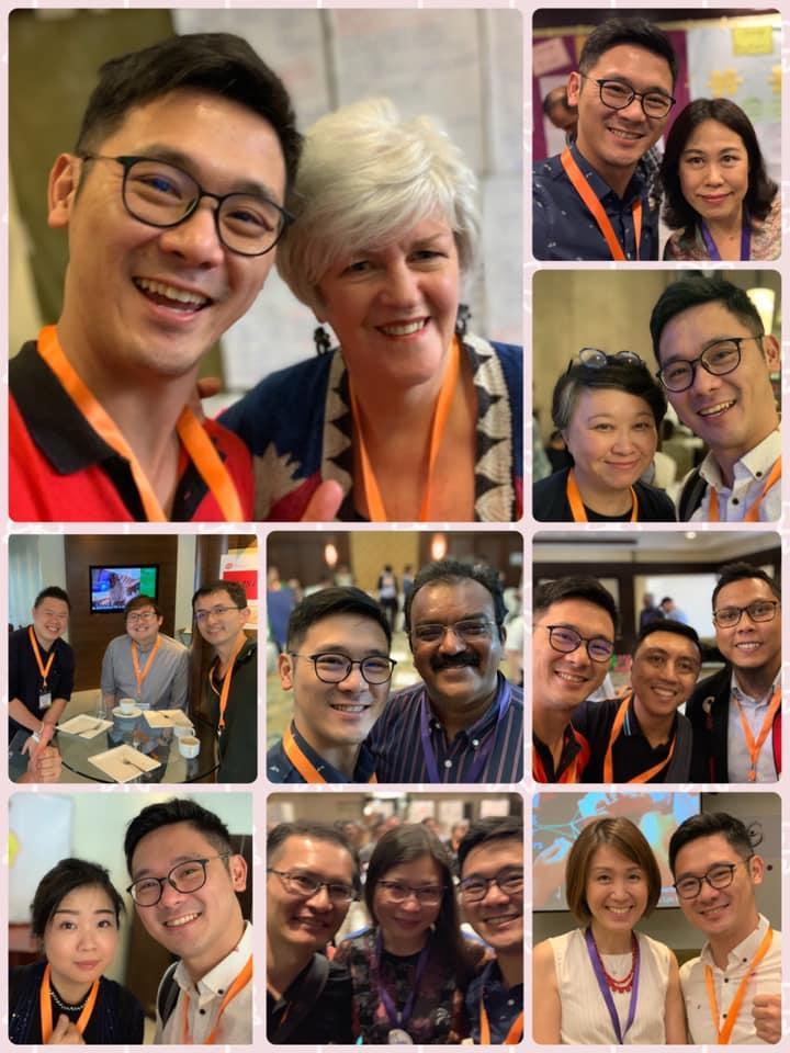 圖像裡可能有21 個人、包括 Yu-jen Hsu 、 Laura Hsu 、 Yateen Gharat Cpf 和李龙乔、微笑的人、眼鏡、自拍和特寫