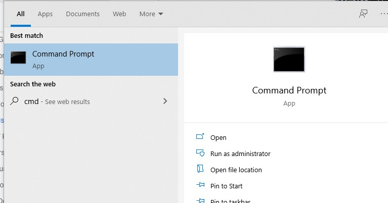 run the Command Prompt as an administrator.