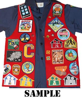 Uniform Patch Placement - Wayne City Cub Scouts