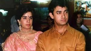 Amir khan with his first wife, Reena Dutta