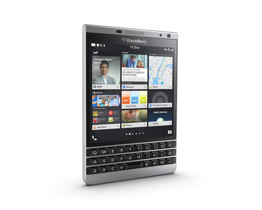 BlackBerry Passport Silver Edition Moi
