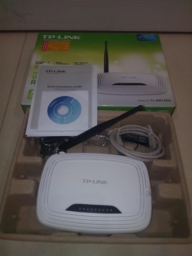 wifi tp-link w740n lắp đặt tại nhà
