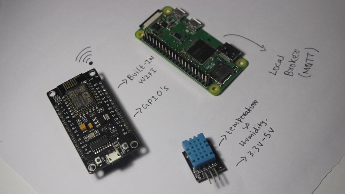 raspberry pi esp8266 mqtt