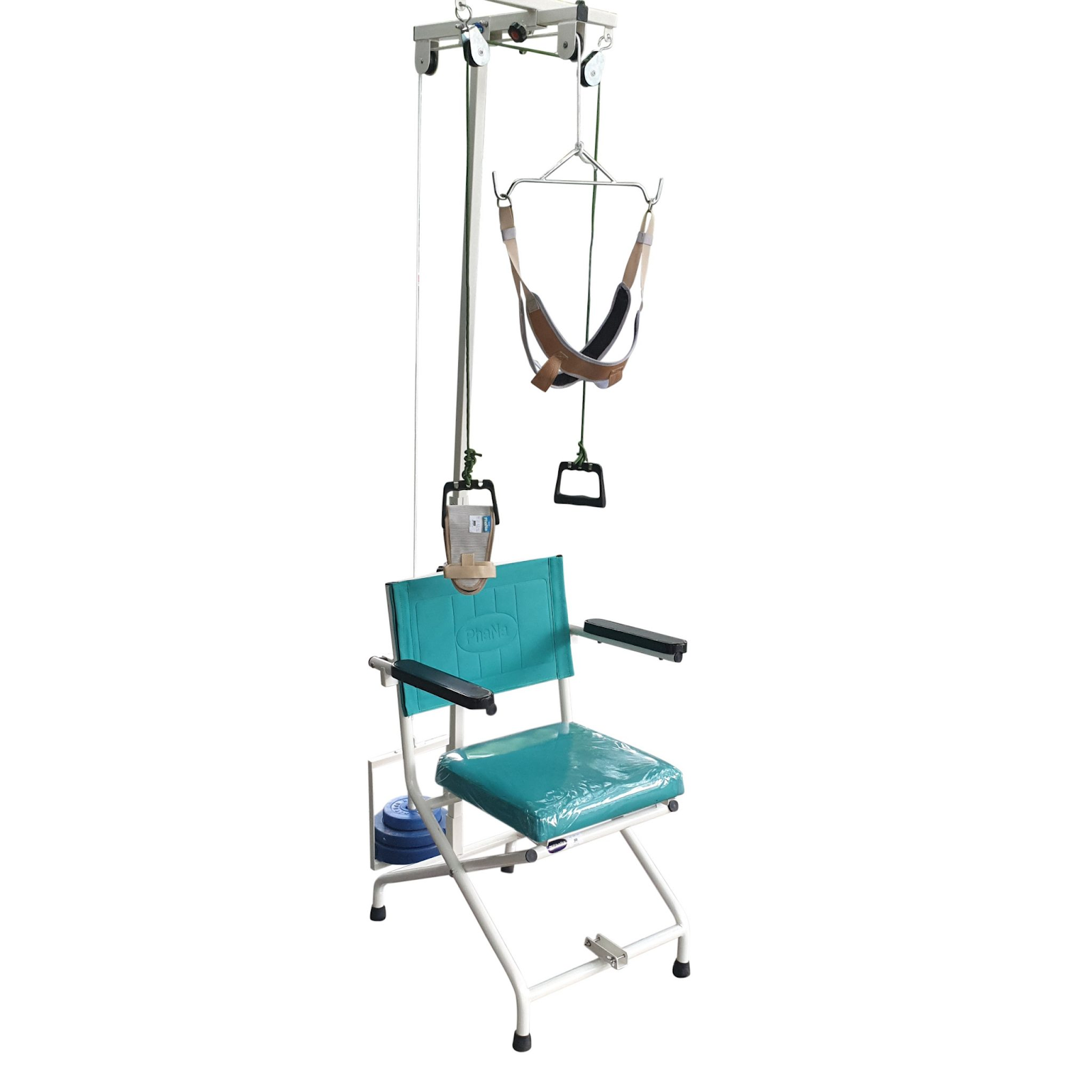 ghế kéo cổ - ghế trị liệu suy giãn tĩnh mạch kéo cổ