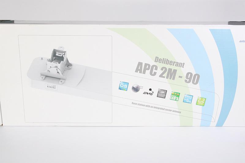 Обзор секторной беспроводной точки доступа Deliberant APC 2M-90