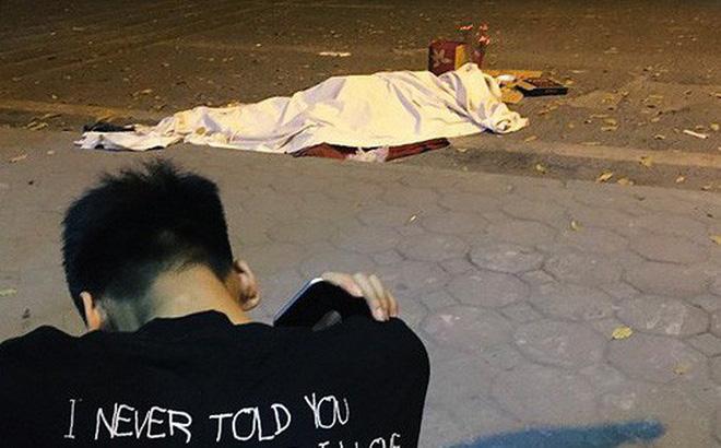 Đứa con trai gục khóc bên thi thể mẹ trong vụ tài xế xay xỉn đâm vào nữ lao công ở Láng Hạ (Hà Nội) - ép uống rượu bia