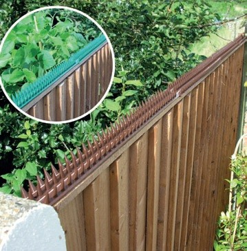 Deterrent Security Spikes for Gardens