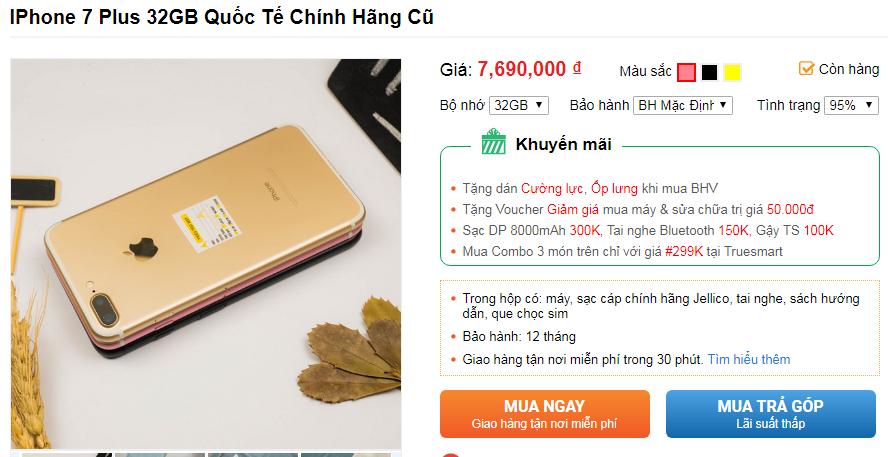 Những lý do nên mua iPhone 7 Plus tại thời điểm này