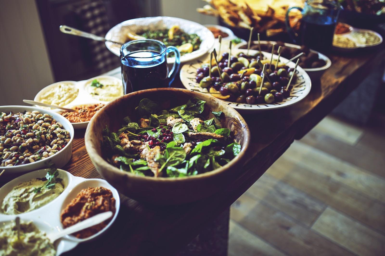 Texas Olive Oil Thanksgiving Veggies