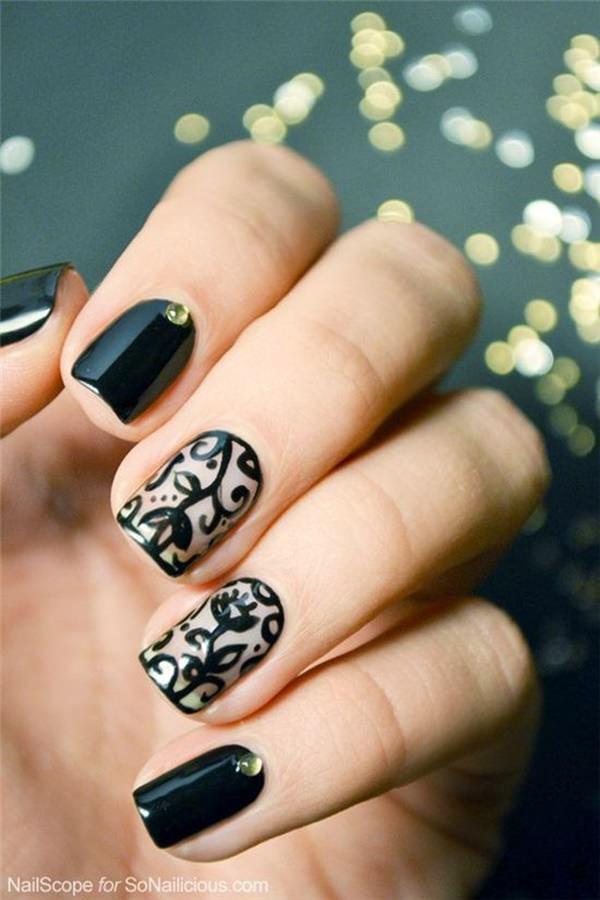 cute nail designs creem (73)