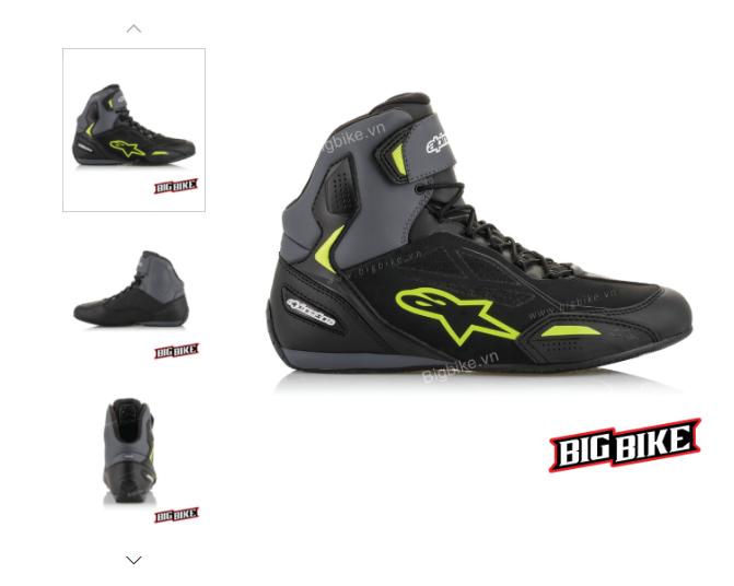 Một mẫu giày moto nhập khẩu chính hãng từ Ý