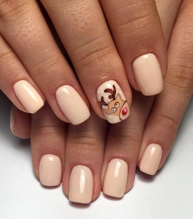manicure for the New Year  5