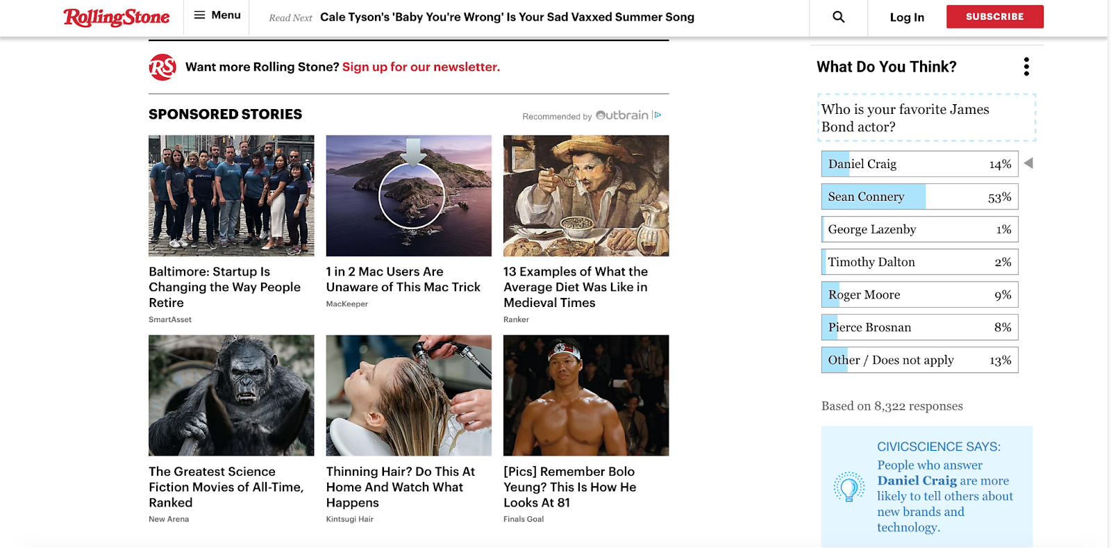 Rolling Stone Sponsored Stories