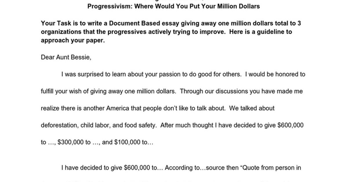 progressivism dbq google docs