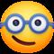Nerd Face on Facebook