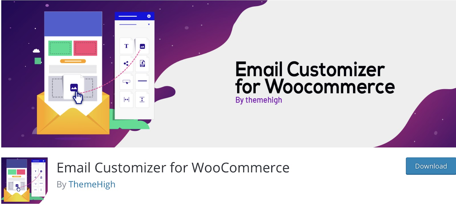 Email Customizer for WooCommerce by ThemeHigh
