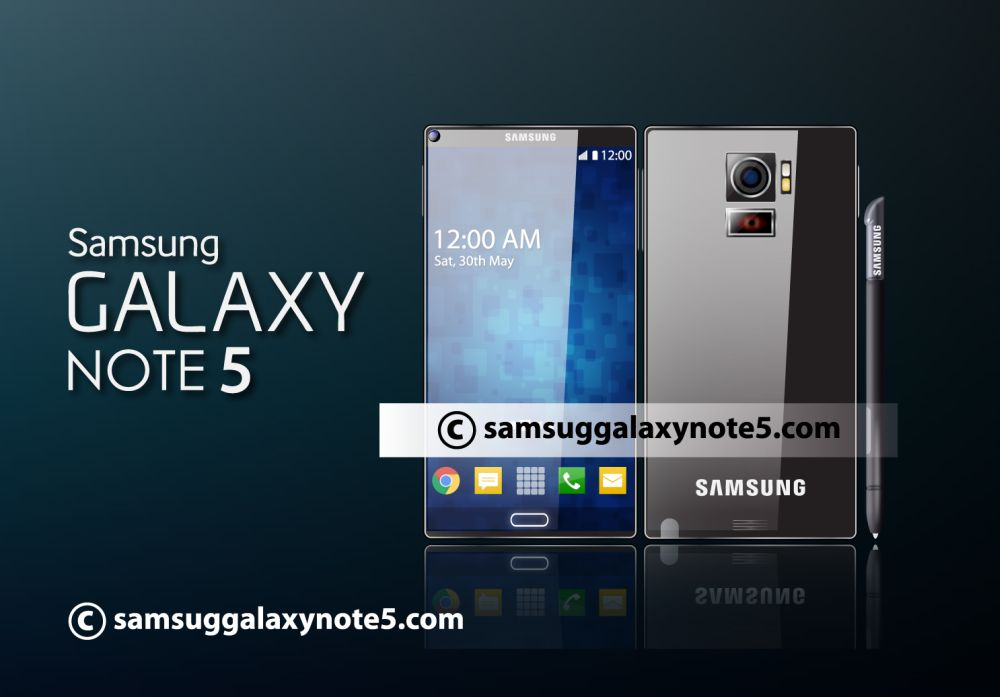 Concept Galaxy Note 5