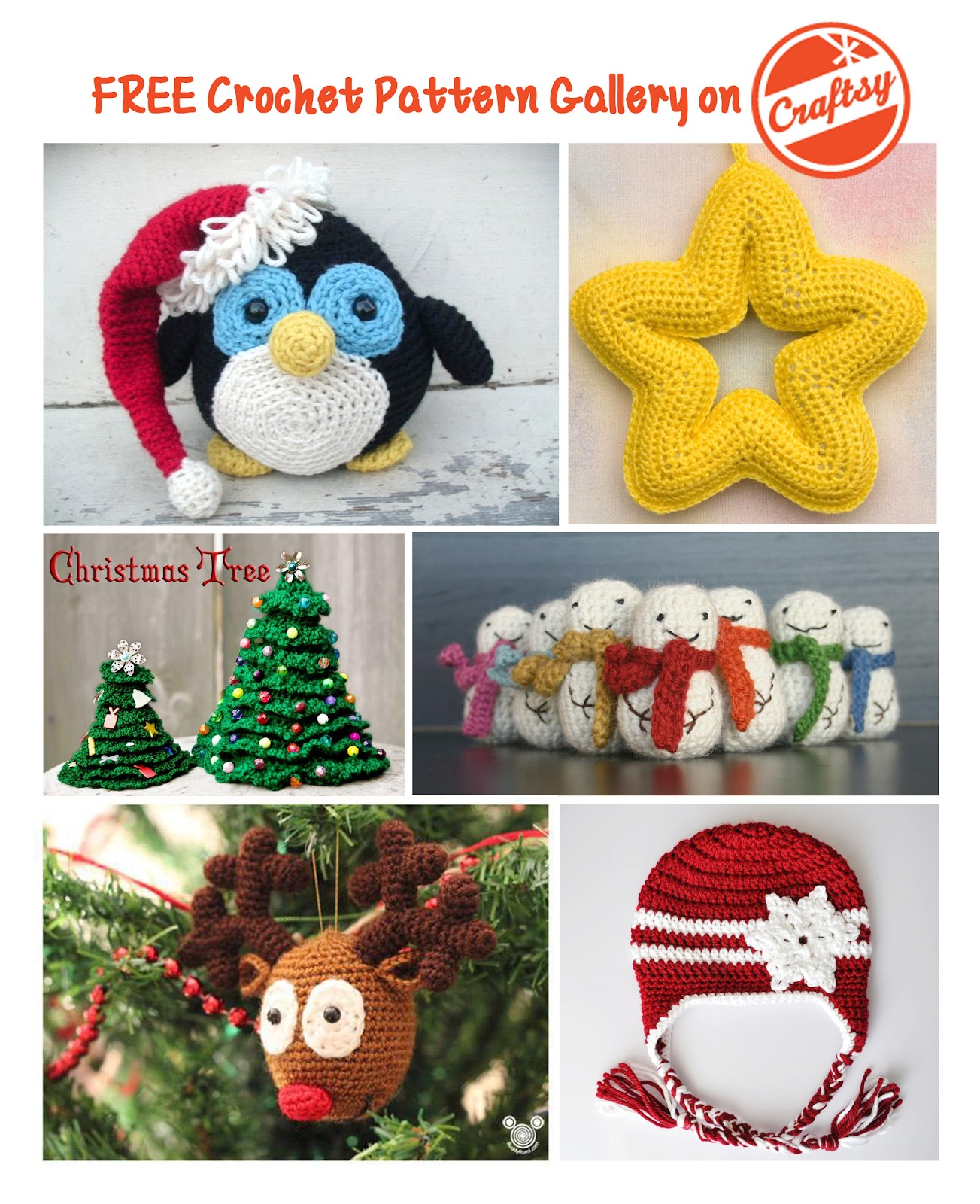 Free Crochet Patterns Gallery on Craftsy - Repeat Crafter Me