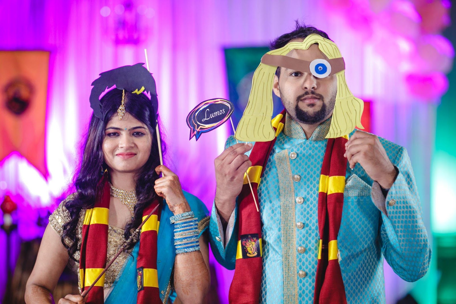 Function Mania   Sangeet Themes  Wedding Themes  Harry Potter Theme  Hollywood Sangeet Night  Wedding Inspiration  Sangeet Night