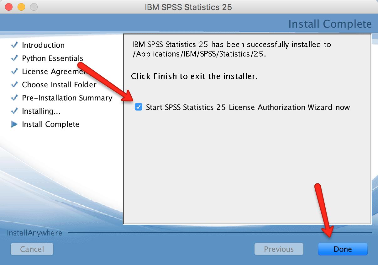 Mac SPSS Installer Donw
