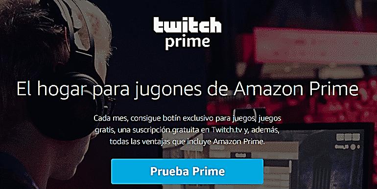 La mejor forma para suscribirse a un streamer de Twitch con cuenta de Amazon Prime?