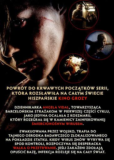 Tył ulotki filmu '[REC] 4: Apokalipsa'