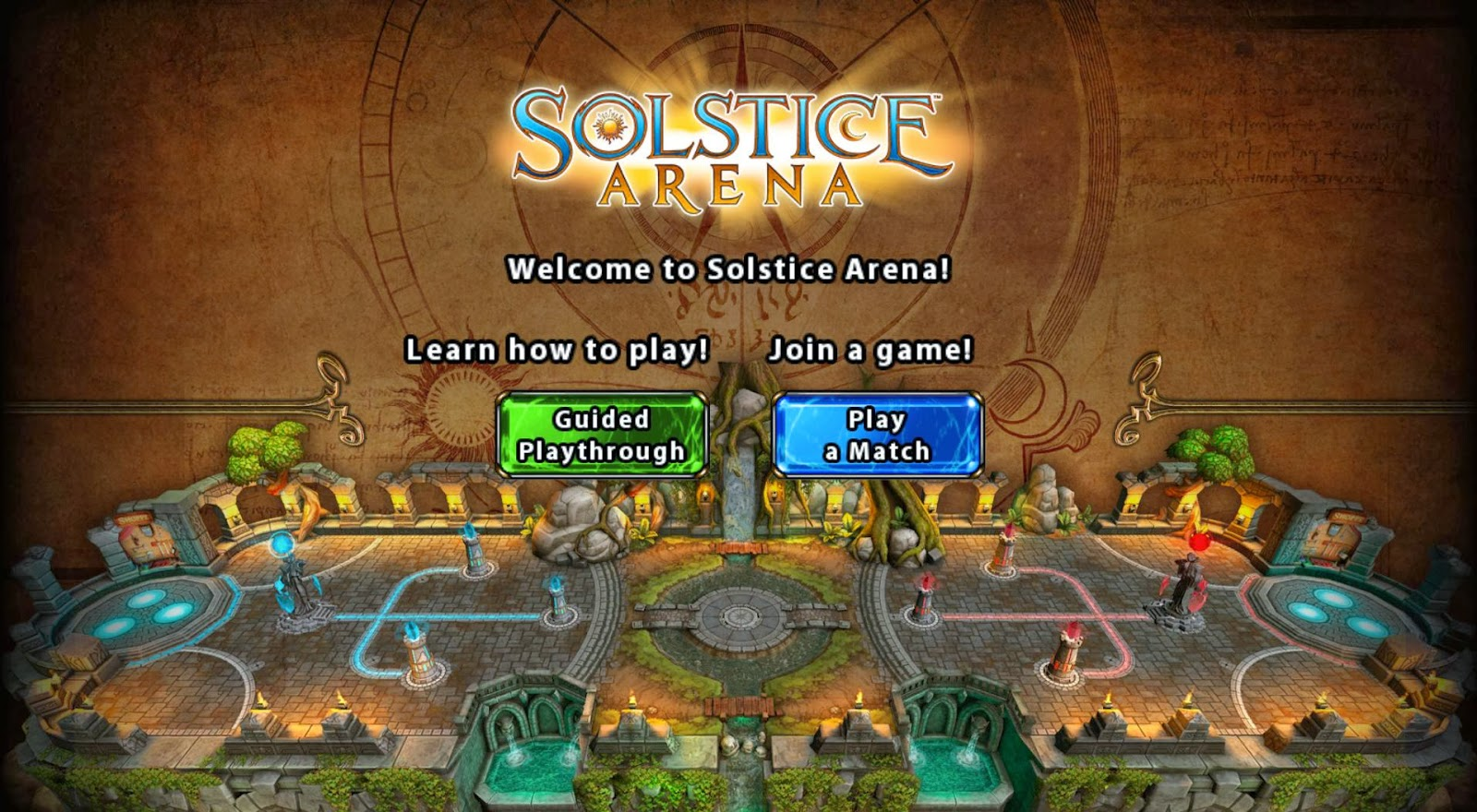 Welcome to Solstice Arena!