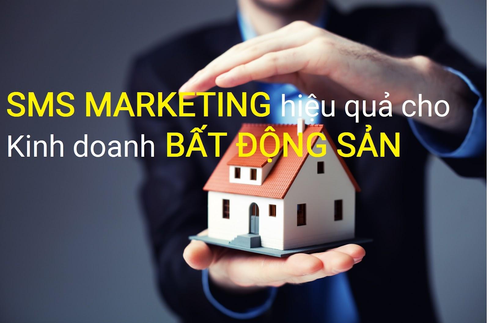 sms quảng cáo bất động sản là chiến lược marketing hiệu quả