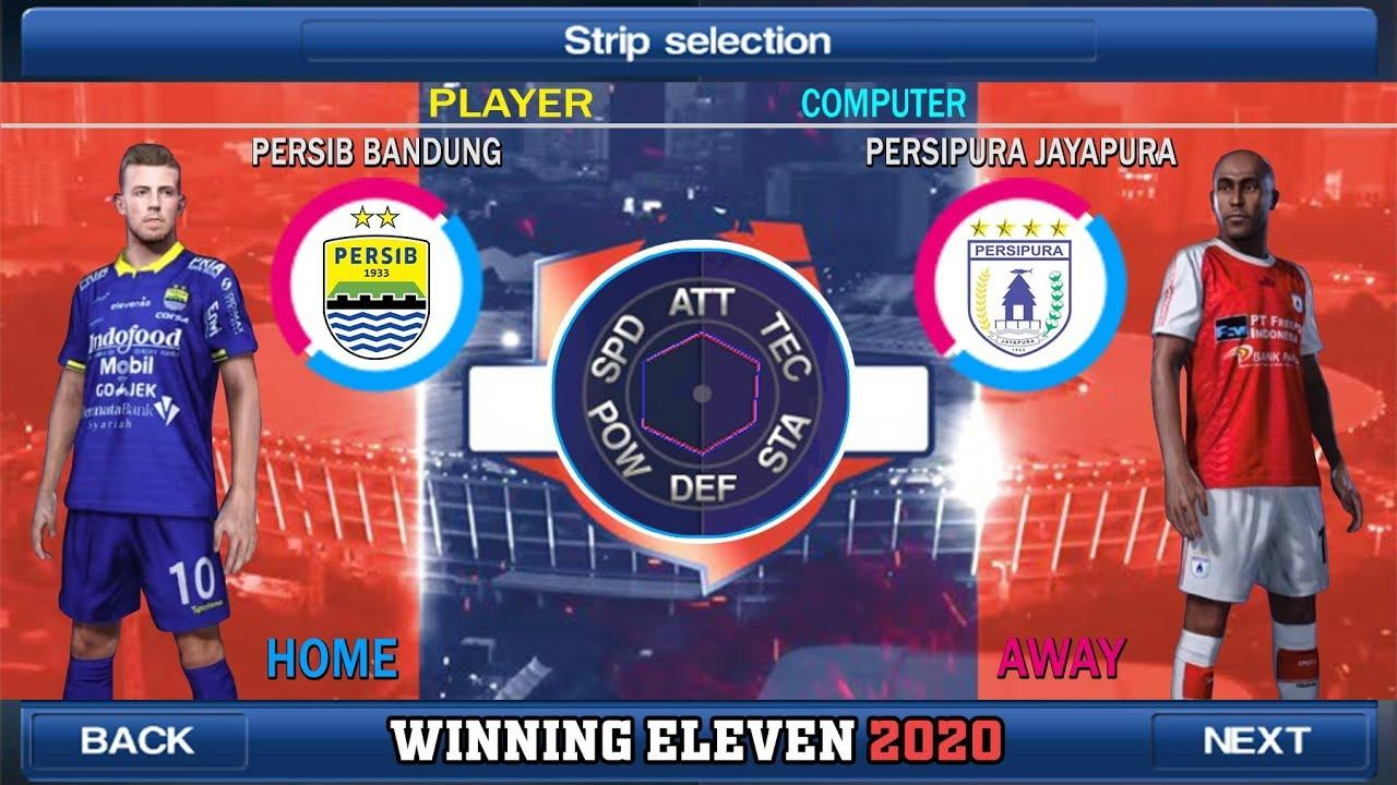 Winning Eleven 2012 Mod 2020 - Indonesian transfers, kits and players