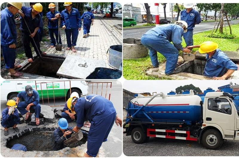 An Bình đảm bảo chất lượng dịch vụ thi công hút hầm cầu