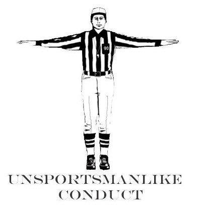 unsportsmanlike conduct The handshake at the end of a playoff series is the embodiment of class in sports  unsportsmanlike conduct is a penalty for the uglier side of.