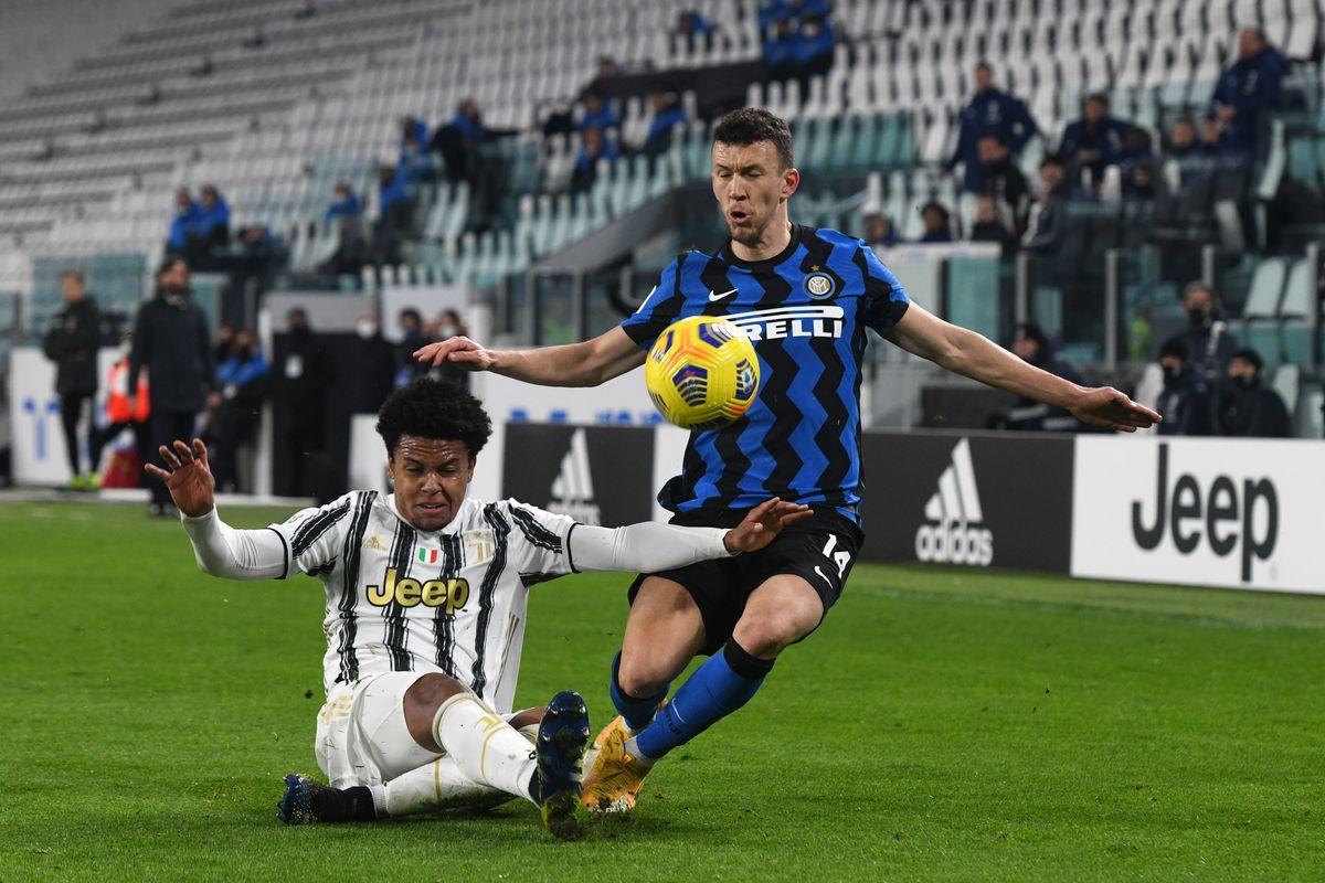 Juventus đã thua Inter 0-2 ở trận lượt đi trên sân San Siro